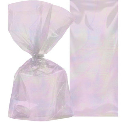 The Original Party Bag Company - Iridescent Treat Bags(Pk10) - irid2loot- The Original Party Bag Company