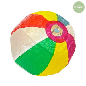 The Original Party Bag Company - Japanese Paper Beach Ball Balloon - JP-BAL-0027- The Original Party Bag Company