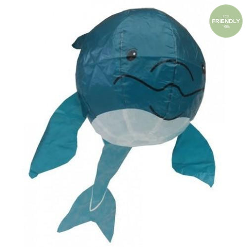 The Original Party Bag Company - Japanese Paper Blue Whale Balloon - JP-BAL-0017- The Original Party Bag Company