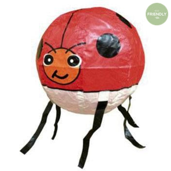 The Original Party Bag Company - Japanese Paper Ladybird Balloon - jp-bal-0042- The Original Party Bag Company