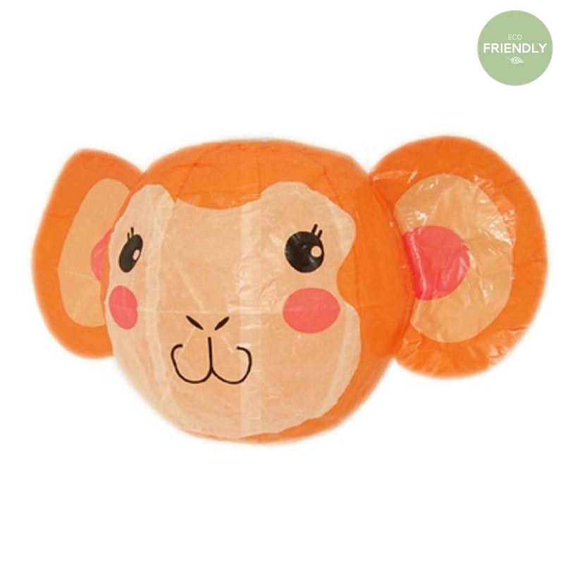 The Original Party Bag Company - Japanese Paper Monkey Balloon - JP-BAL-0002- The Original Party Bag Company