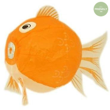 The Original Party Bag Company - Japanese Paper Orange Fish Balloon - JP-BAL-0036- The Original Party Bag Company