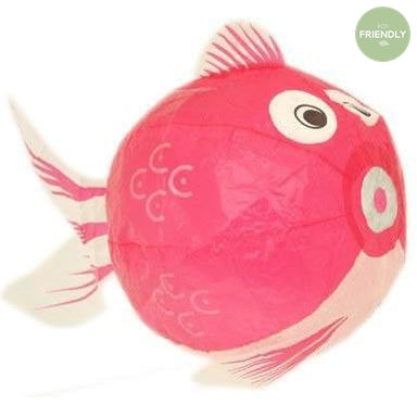 The Original Party Bag Company - Japanese Paper Pink Fish Balloon - JP-BAL-0023- The Original Party Bag Company