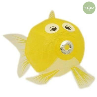 Japanese Paper Balloons Yellow Fish