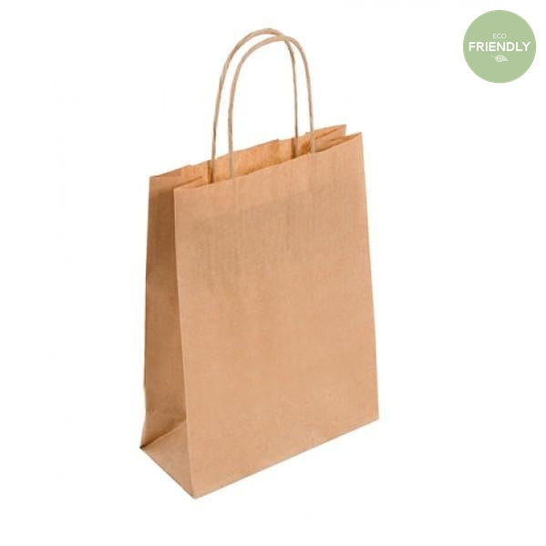The Original Party Bag Company - Kraft Small Gift Bag - bk019- The Original Party Bag Company