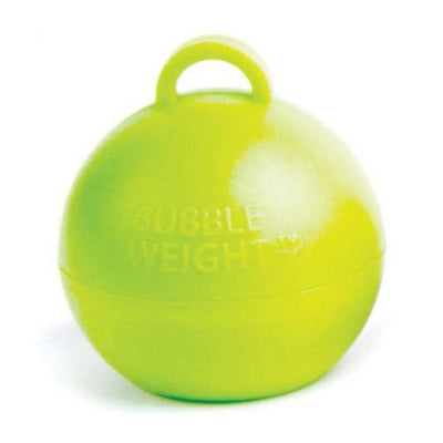 The Original Party Bag Company - Lime Bubble Weight - bubbleweightlime- The Original Party Bag Company