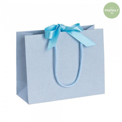 The Original Party Bag Company - Luxury Blue Gift Bag with Ribbon - rplbr20- The Original Party Bag Company