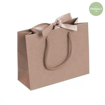 The Original Party Bag Company - Luxury Kraft Gift Bag with Ribbon - rpklr20- The Original Party Bag Company