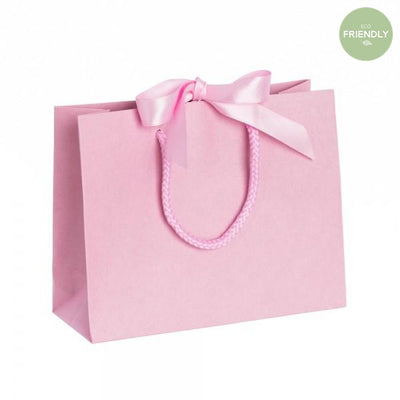 The Original Party Bag Company - Luxury Pink Gift Bag with Ribbon - rppr20- The Original Party Bag Company