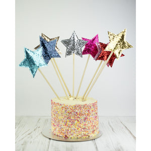 The Original Party Bag Company - Luxury Star Cake Topper - startopbl- The Original Party Bag Company