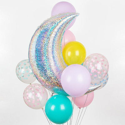 The Original Party Bag Company - Moon Balloon (Choose Your Colour) - - The Original Party Bag Company