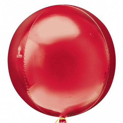 The Original Party Bag Company - Orbz Balloon - Red - 2820399- The Original Party Bag Company