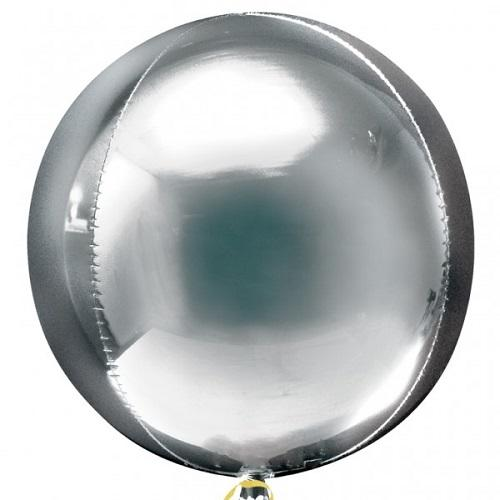 The Original Party Bag Company - Orbz Balloon - Silver - 2820199- The Original Party Bag Company