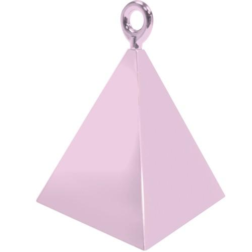 The Original Party Bag Company - Pale Pink Pyramid Balloon Weight - BM1440112- The Original Party Bag Company