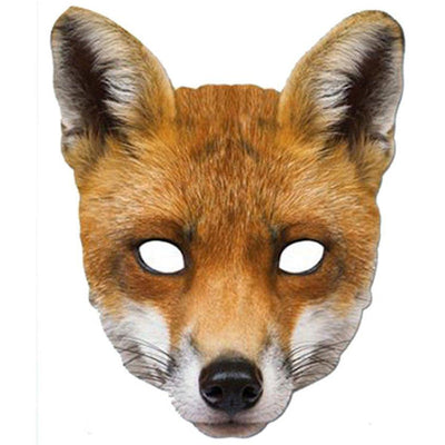 The Original Party Bag Company - Paper Mask - Fox - mask669- The Original Party Bag Company