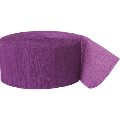 The Original Party Bag Company - Paper Streamer Purple - STRECPUROP- The Original Party Bag Company
