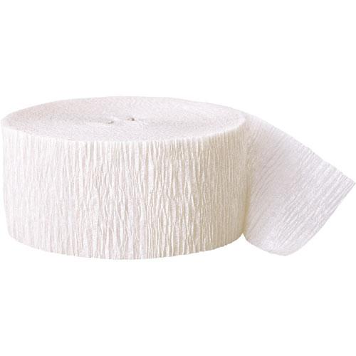 The Original Party Bag Company - Paper Streamer White - STREWHIOP- The Original Party Bag Company