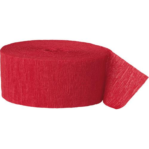 The Original Party Bag Company - Paper Streamers Red - 194355- The Original Party Bag Company