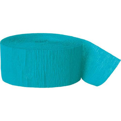 The Original Party Bag Company - Paper Streamers Teal - 200888- The Original Party Bag Company