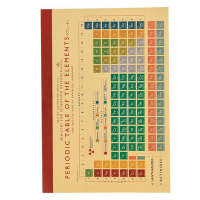 The Original Party Bag Company - Periodic Table A5 Notebook - 26815- The Original Party Bag Company