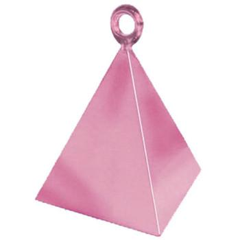 The Original Party Bag Company - Pink Pyramid Balloon Weight - BM1440212- The Original Party Bag Company