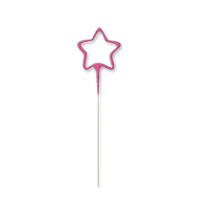 The Original Party Bag Company - Pink Star Sparkler - PISTSPARK- The Original Party Bag Company