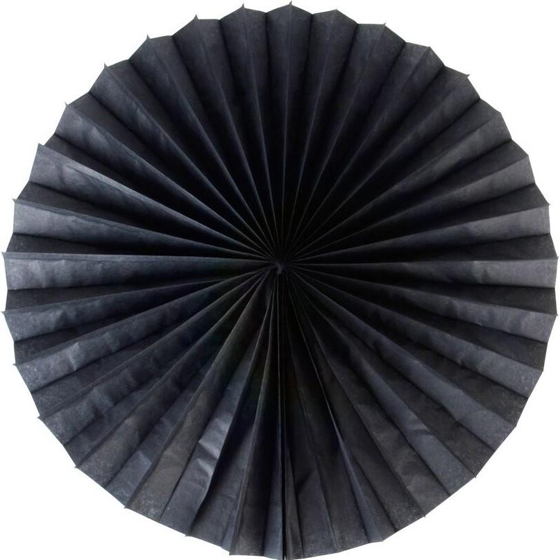 The Original Party Bag Company - Pinwheel Fan - Black Large - 196694- The Original Party Bag Company