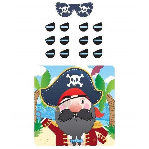 The Original Party Bag Company - Pirate Party Game - 40512- The Original Party Bag Company