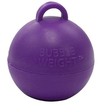 The Original Party Bag Company - Purple Bubble Weight - bubbleweightpurple- The Original Party Bag Company