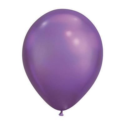 The Original Party Bag Company - Purple Chrome Balloons (Pk5) - chromepur- The Original Party Bag Company