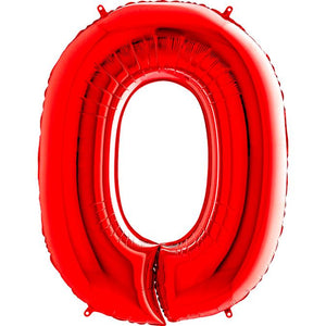 The Original Party Bag Company - Red Giant Number Balloons - giantnumberred-01- The Original Party Bag Company
