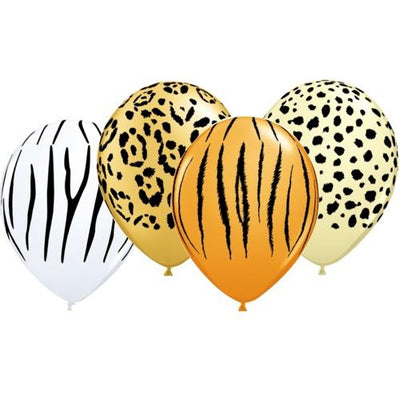 The Original Party Bag Company - Safari Balloons (Pk5) - TF92035- The Original Party Bag Company