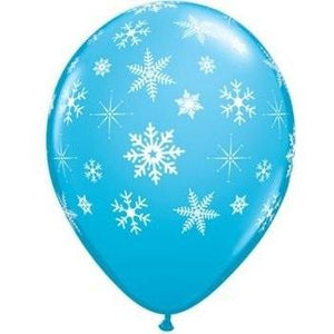 The Original Party Bag Company - Snowflake Balloons (Pk12) - 33531- The Original Party Bag Company