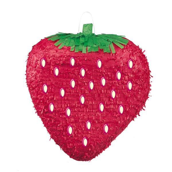The Original Party Bag Company - Strawberry Pinata - 66126- The Original Party Bag Company