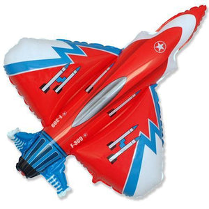 The Original Party Bag Company - Super Jet Fighter Balloon - FIGHTERRED- The Original Party Bag Company