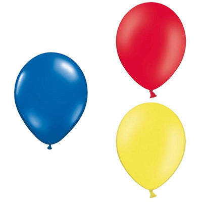 The Original Party Bag Company - Superhero Themed Balloons (Pk12) - superherobm- The Original Party Bag Company