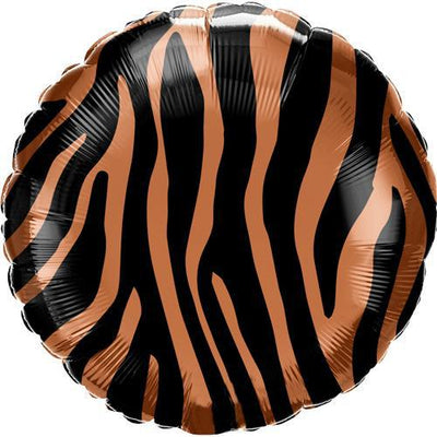 The Original Party Bag Company - Tiger Stripes Foil Balloon - - The Original Party Bag Company