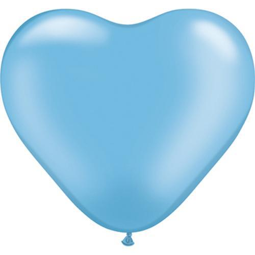 The Original Party Bag Company - Tiny Heart Balloons (Pk5) Choose Your Colour - miniheartbb- The Original Party Bag Company