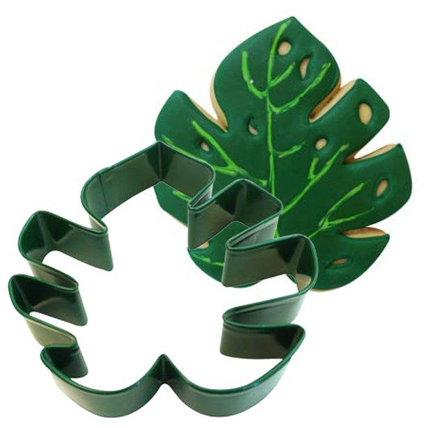 The Original Party Bag Company - Tropical Leaf Cookie Cutter - cook102- The Original Party Bag Company
