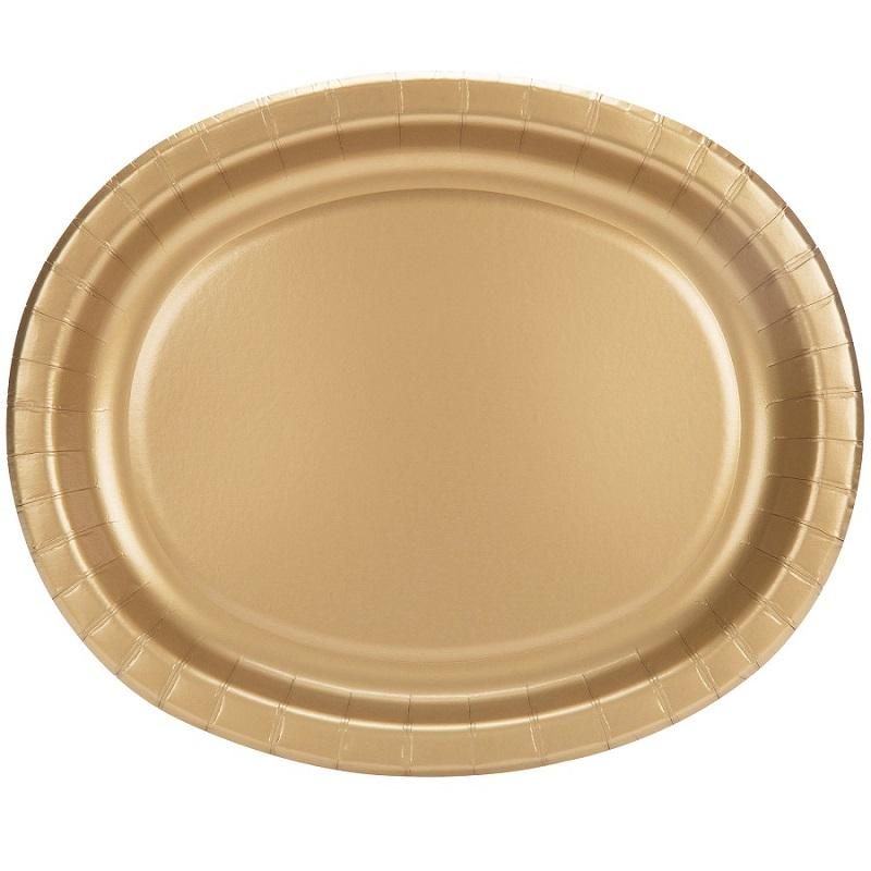 The Original Party Bag Company - Value Gold Serving Platter - CR33259- The Original Party Bag Company