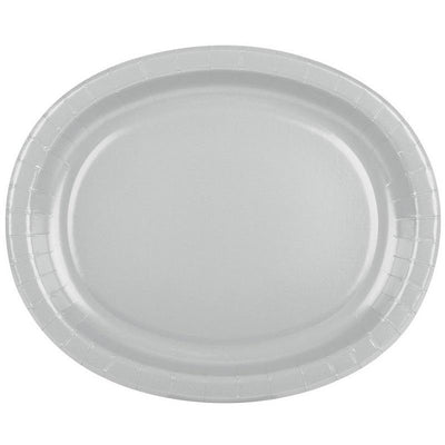The Original Party Bag Company - Value Silver Serving Platter - CR33429- The Original Party Bag Company