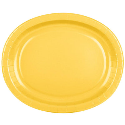 The Original Party Bag Company - Value Yellow Serving Platter - CR31909- The Original Party Bag Company
