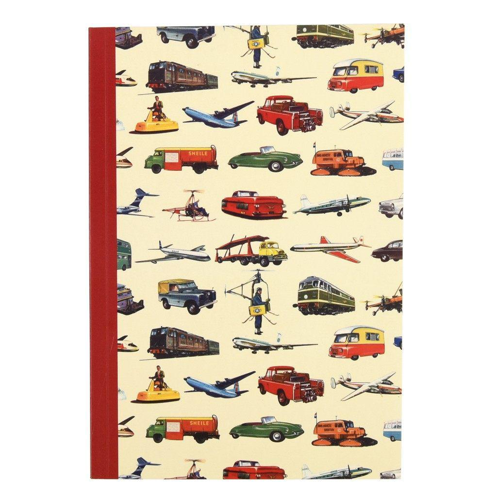 The Original Party Bag Company - Vintage Transport A5 Notebook - 25924- The Original Party Bag Company