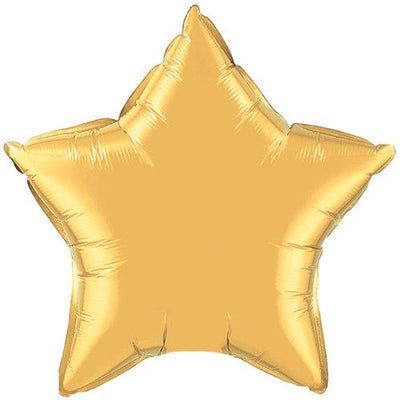 The Original Party Bag Company - XL Gold Star Balloon - TF36498- The Original Party Bag Company