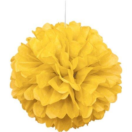 The Original Party Bag Company - Yellow Pom Pom - CR64271- The Original Party Bag Company