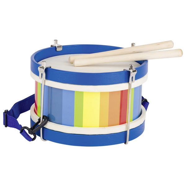 Multicoloured Wooden Drum