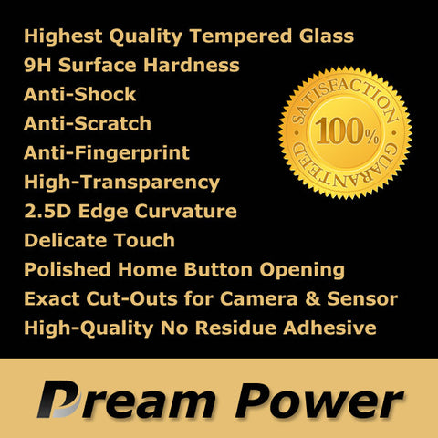 Dream Power iPhone 6, 6 Plus Premium 2.5D Tempered Glass Screen Protector with 9H Hardness - CreatePros, LLC - 3