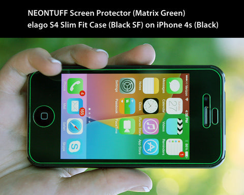 NEONTUFF Unbreakable Protection for your iPhone 4, 4S - CreatePros, LLC - 6