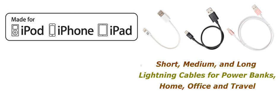 Apple Certified Lightning Cables