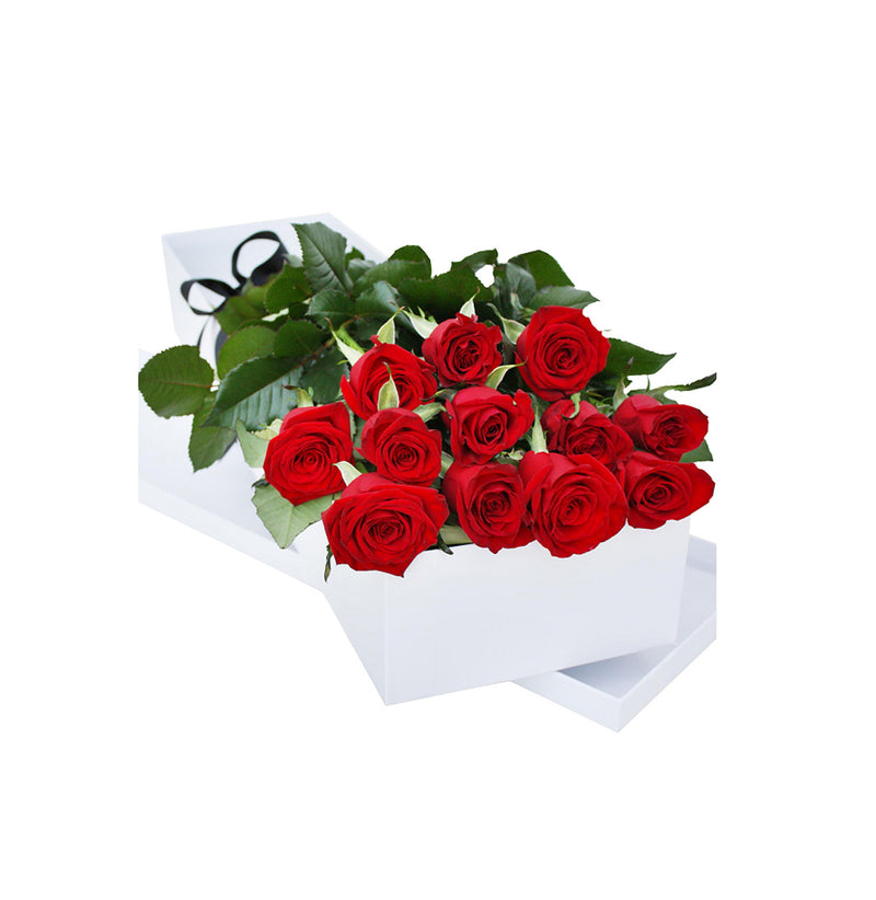 12 Roses in sweetheart box,  Flowers Delivery Ottawa, Order Online
